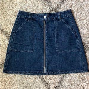 Madewell Zip Denim Skirt 💫
